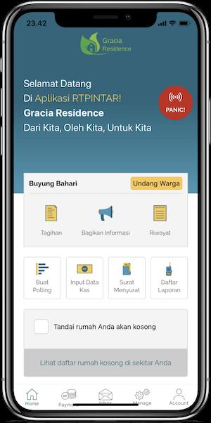 Rtpintar Aplikasi Manajemen Rt Rw Cluster Perumahan Apartemen Iuran Digital Dan Manajemen Warga Mandiri Terintegrasi Dan Terjamin